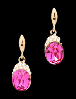 Solpresa Sweet Delicate Elegant Crystal Earrings